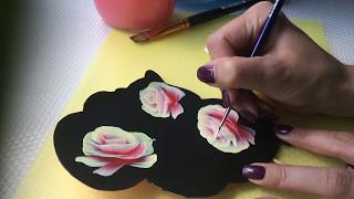 Китайская роспись Катя Амси видео урок