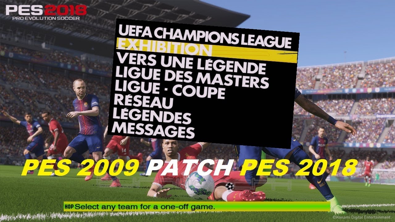 Pes 2009 patch 2017 super patch new season ( benallal ayman ) pc.