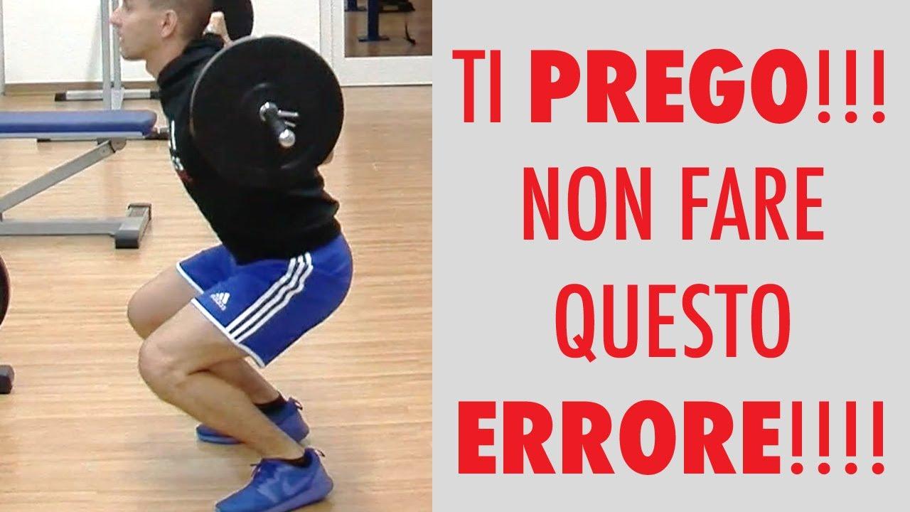 Come evitare il dolore al ginocchio dopo lo squat, accedi gratis ai...