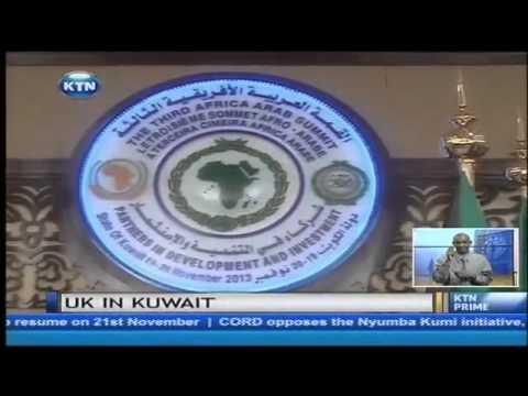 President Uhuru Kenyatta in Kuwait to woo investors