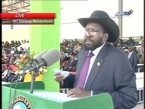 President Salva Kiir Speech (South Sudan July 9,2012) خطاب الرئيس سلفاكير