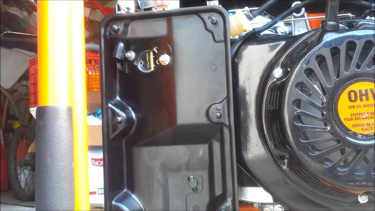 Generac GP5500 FloatPinFix carb leak