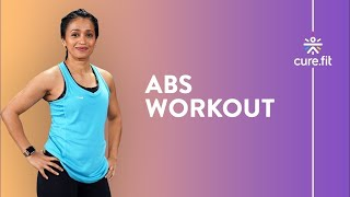 Abs, Butt & Thigh Workout by Cult Fit | No Equipment | 13 Min Home Workout | Cult Fit | Cure Fit screenshot 2