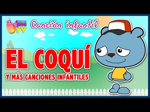 🐸🐸🐸♫♪ EL COQUÍ  ♫♪ 🐸🐸🐸canción infantil completa con dibujos animados