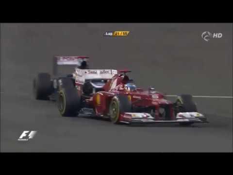 Fernando Alonso epico