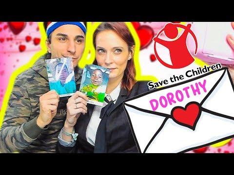 Partiamo per l'Africa! Io e Sascha scriviamo la LETTERA a Dorothy, nostra FIGLIA adottiva.