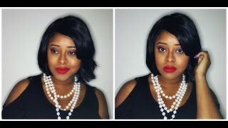 Inspired Makeup Tutorial| Coretta Scott King w/ Ania Sade