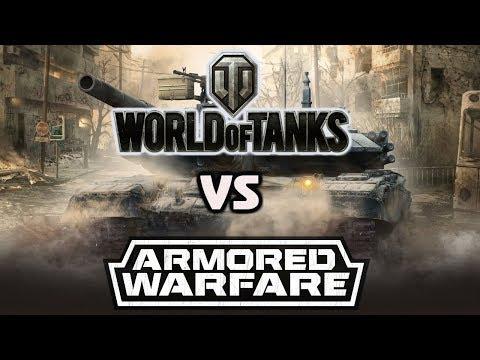 WOT vs Armored Warfare - Проект Армата
