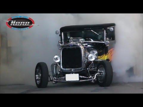 Nene Nhra Ford T 1926 Hot Rod V8 Bigblock Burnout Youtube