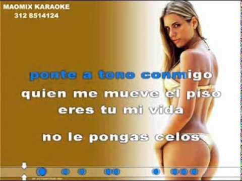KARAOKE - LA NUMERO UNO - Jorge Luis Hortua (MAOMIXKARAOKE)