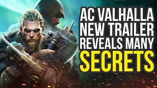 Assassin's Creed Valhalla Gameplay Details From New Trailer - Secrets Revealed (AC Valhalla Gameplay