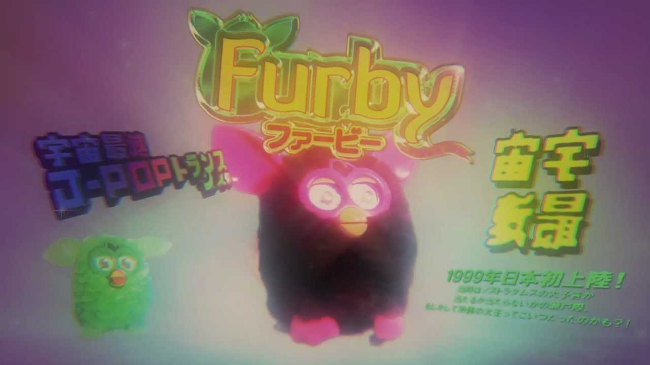 Creepy Japanese Toy : Creepy japanese furby commercial youtube