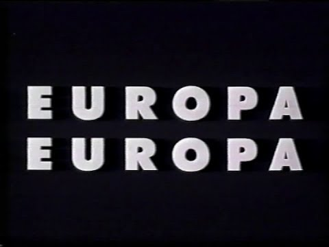 Europa, Europa (Trailer en castellano)