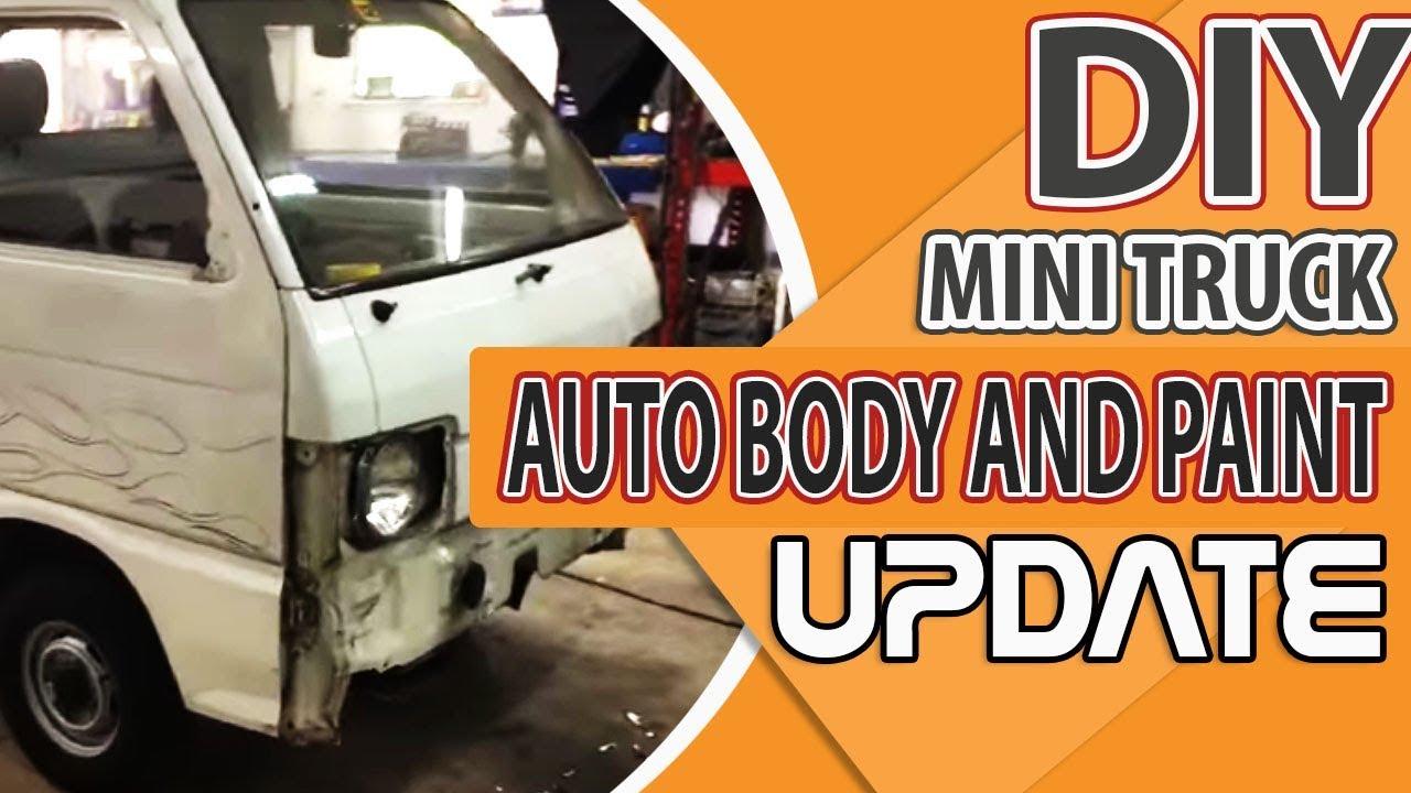 Diy Mini Truck Auto Body And Paint Update Youtube