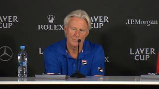 Day two draw revealed by Borg and McEnroe | Laver Cup 2017