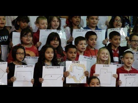 God Bless the USA - DeShazo 3rd Grade Musical 2014