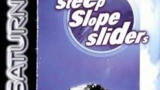 Gameplay from SEGA Saturn Steep Slope Sliders