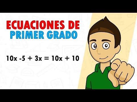 Aprende A Resolver Ecuaciones De 1 Grado