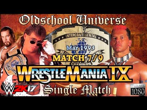 Oldschool Universe #013 WRESTLEMANIA | Match 7: Shawn Michaels VS. Tatanka thumbnail