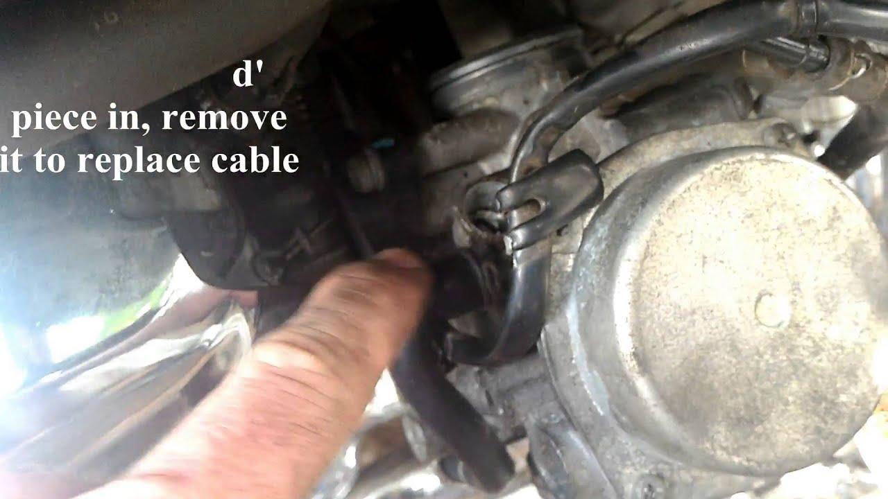 2006 honda vlx600 carburetor removal [ 1280 x 720 Pixel ]