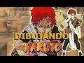 Dibujando a Gaara de Naruto / Usando PRISMACOLOR