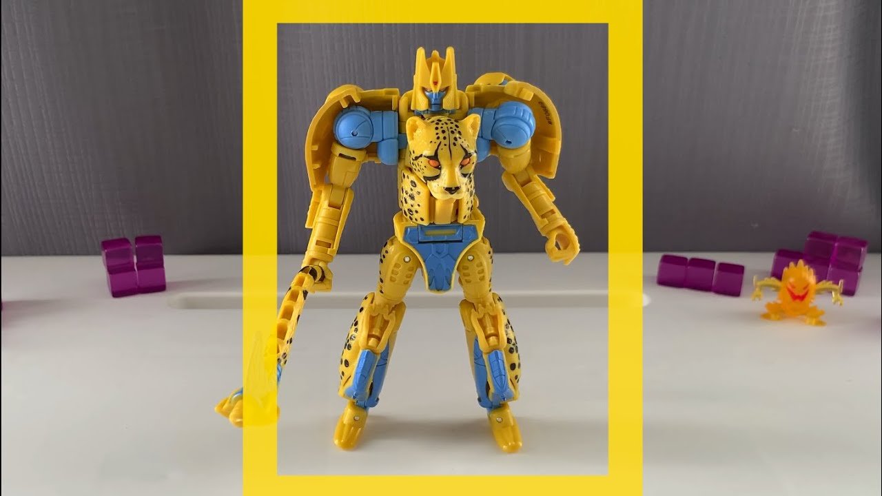 Transformers WFC Kingdom Cheetor Deluxe Figure by Kremzeek Reviews