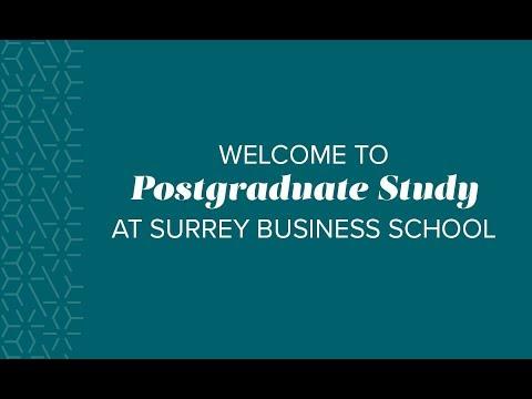 MSc International Financial Management, Postgraduate Degrees at Surrey Business School