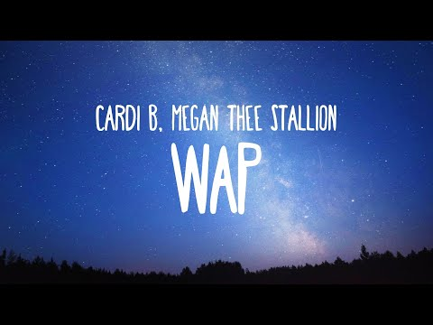 Cardi B - WAP feat. Megan Thee Stallion (Clean - Lyrics)
