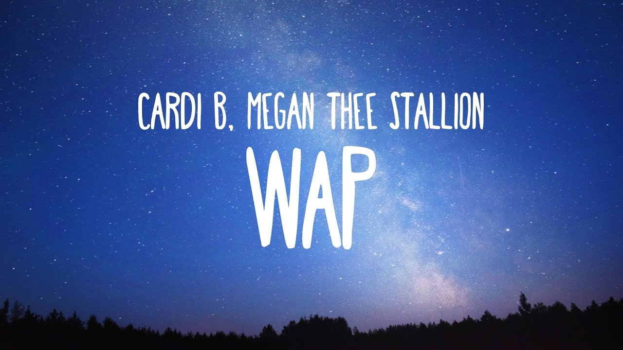 Cardi B - WAP feat. Megan Thee Stallion (Clean - Lyrics)