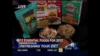 12 Foods to Put in Your Grocery Cart in 2012 (January 2012 on KARE 11)