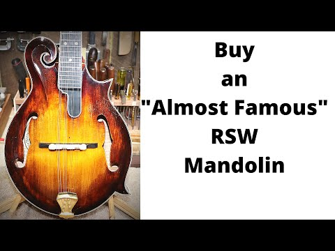 363 RSW Almost Famous RSW Mandolin For Sale