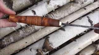 Нож из напильника 2.0. Рукоять