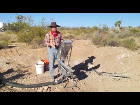 Gold Mining Dry Washer - How To Maximize Recovery