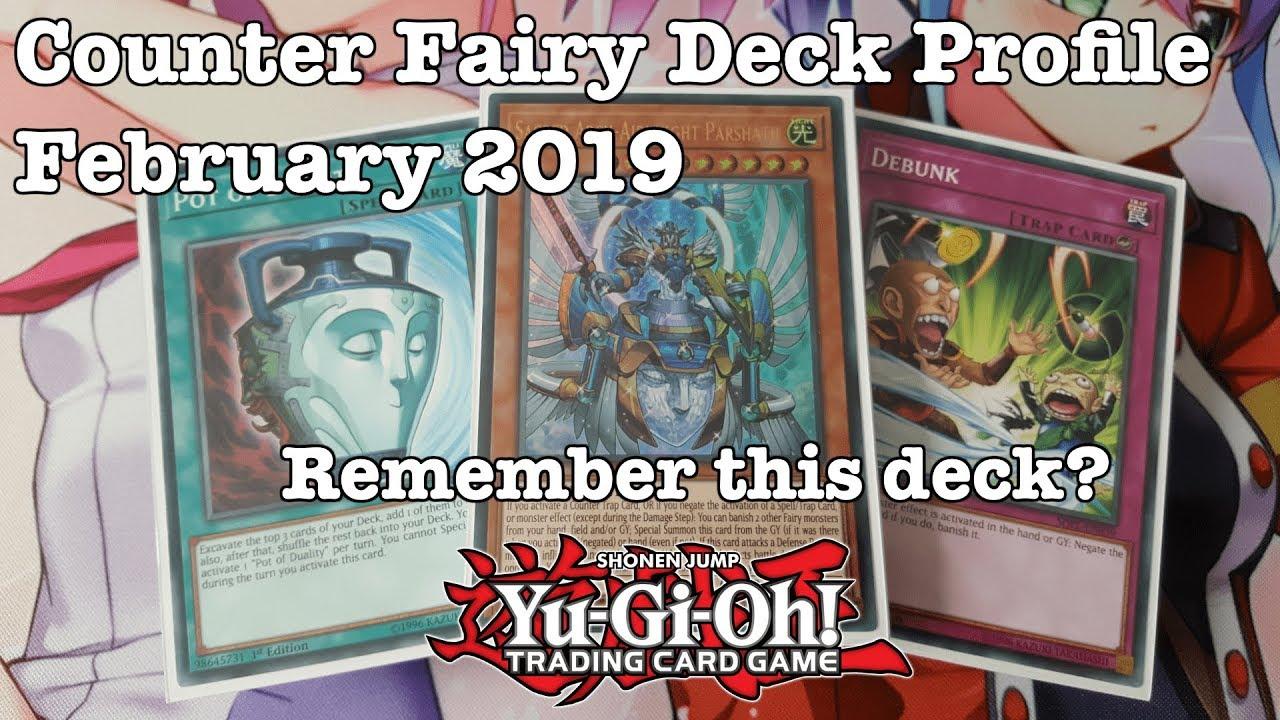 Yugioh: Marvellous Counter Fairy Deck Profile February 2019