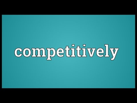 Header of competitively