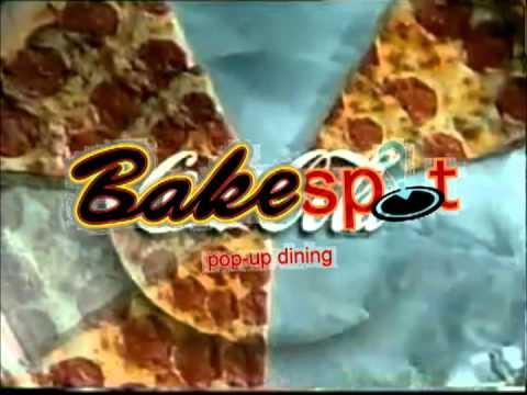 FOOD SLOGAN LOGO: BAKESPOT GOES WITH ANY FOOD ADVERT!
