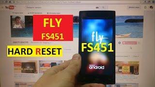 hard Reset Fly FS451 - Сброс настроек Fly FS451 Nimbus 1