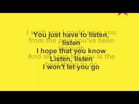 One Ok Rock ft. Avril Lavigne-Listen Lyrics HQ FULL (re-upload)