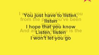 One Ok Rock ft. Avril Lavigne-Listen Lyrics HQ FULL (re-upload)