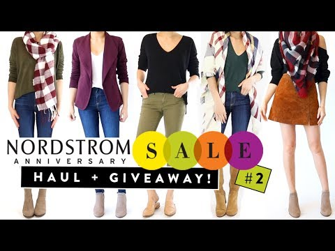 Nordstrom Anniversary Sale 2017 HAUL + GIVEAWAY! Pt.2 | Try on clothing haul | Miss Louie