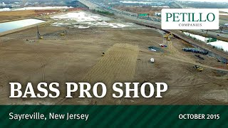 Bass Pro Shops, Sayreville, NJ, Petillo Inc. 2015-10-14
