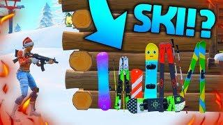 SKI OG SNOWBOARDS KOMMER I FORTNITE!!❄️ - Dansk Fortnite
