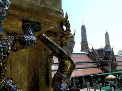 Wat Phra Kaeo (Wat Phra Kaew), Bangkok, Thailand, Thailand