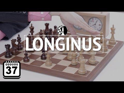 Los 100 patrones que hay que saber #37: Longinus - Estrategia de Ajedrez