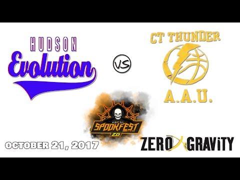 Hudson Evolution vs CT Thunder | Zero Gravity Spookfest | Oct. 21, 2017