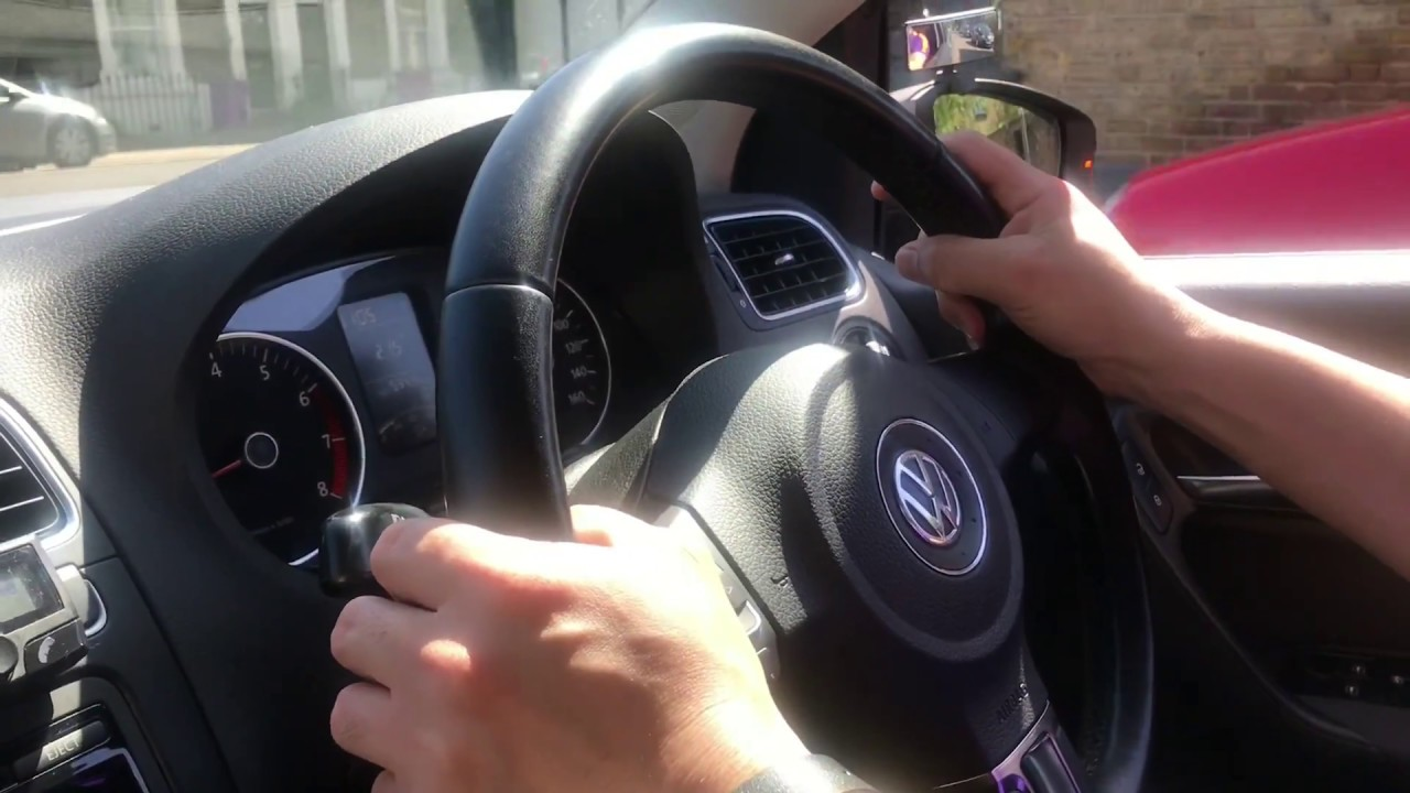 Push and Pull Steering Method for UK Practical Driving