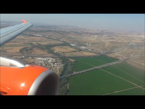 EasyJet Airbus A319-111 | London Gatwick to Madrid *Full Flight*