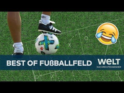Das Fussballfeld Ein Stuck Rasen Wird Zum Flachenmass