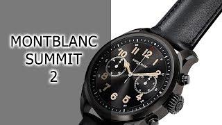 Обзор смарт-часов MontBlanc