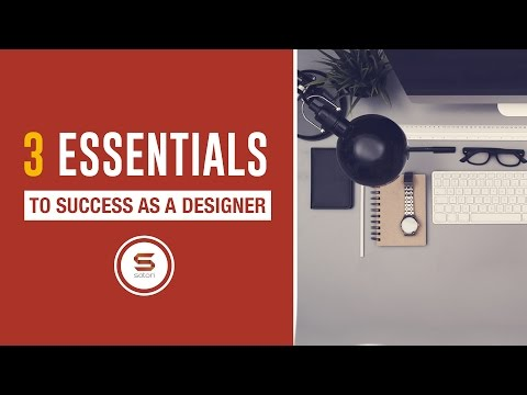 3 GRAPHIC DESIGNER ESSENTIALS TO SUCCESS THAT YOU NEED TO KNOW - 동영상